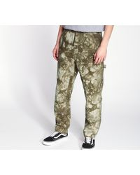 Stussy Dyed Work Pants Olive - Verde