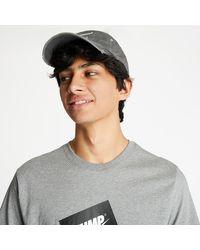 Nike Jumpman Box Tee Carbon Heather/ Black - Grigio