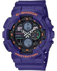 G-Shock G-Shock GA-140-6AER - Lila