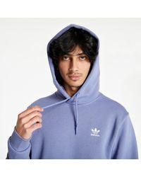 adidas Originals Adidas Essential Hoody Orbit Violet - Lila
