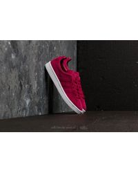 huge discount 3795d 5c0a4 adidas Originals - Adidas Campus Stitch And Turn Mystery Ruby Mystery Ruby  Ftw White