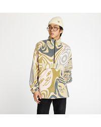 RIPNDIP Hypnotic Brushed Fleece Half Zip Multicolor - Multicolore