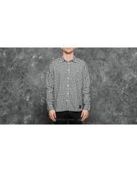 Footshop - Cheap Monday Give Check Shirt White/ Black - Lyst