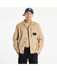 Calvin Klein Utility Overshirt Travertine - Neutre
