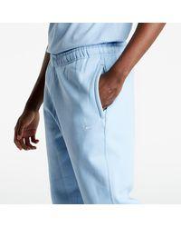Nike Lab Fleece Pants Psychic Blue/ White - Blau
