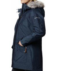 Columbia Carson Passtm Ic Jacket Blue - Black
