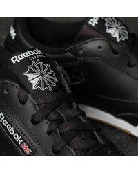 Reebok Club C 85 Black/ White/ Gum - Negro