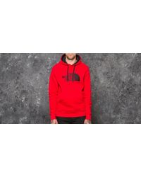 The North Face - Drew Peak Pullover Hoodie Tnf Red/ Tnf Red - Lyst