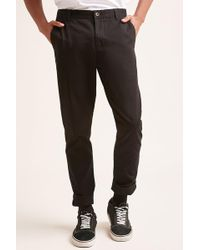 Forever 21 - Slim-fit Twill Chinos - Lyst
