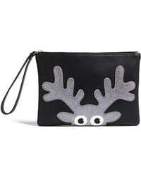 Forever 21 - Faux Leather Reindeer Clutch - Lyst