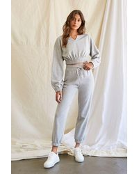 Forever 21 - French Terry Pullover & Joggers Set - Lyst