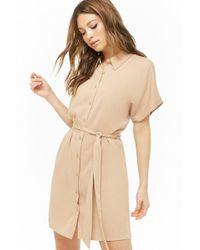 5d53c98b452e Forever 21 Corset T-shirt Dress - Lyst