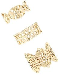 Forever 21 - Filigree Ring Set - Lyst
