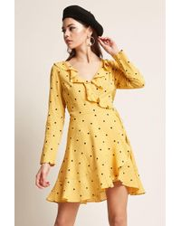 Forever 21 - Selfie Leslie Polka Dot Dress - Lyst