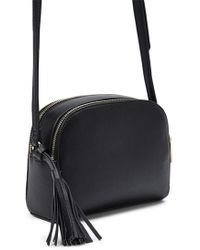 Forever 21 - Double-zip Faux Leather Crossbody - Lyst