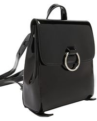 Forever 21 - Faux Patent Leather Backpack - Lyst