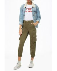 Forever 21 - High-rise Utility Pants - Lyst
