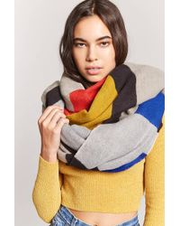 Forever 21 - Colorblocked Oblong Scarf - Lyst
