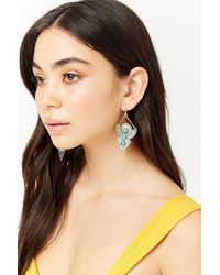 Forever 21 - -inspired Faux Stone Drop Earrings - Lyst