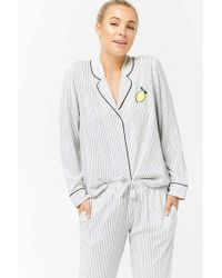 Forever 21 | Striped Pyjama Set | Lyst