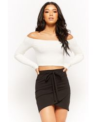 Forever 21 - Stretch-knit Mini Skirt - Lyst