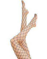 Forever 21 Oversized Fishnet Tights - Black