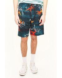 Forever 21 - Ocean Current Floral Print Swim Trunks - Lyst