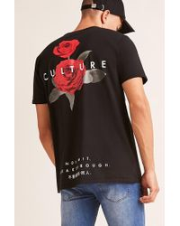 Forever 21 - Culture Floral Graphic Tee - Lyst