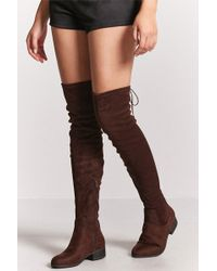 22a7835d9 Botas Forever 21 de mujer desde 13 € - Lyst