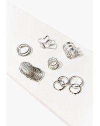 Forever 21 Assorted High-polish Ring Set - Metallic
