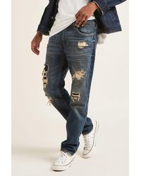 Forever 21 - Levis Distressed Jeans - Lyst