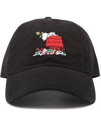 b9518c4e1c2 Forever 21 - Peanuts Christmas Dad Cap - Lyst