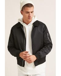 Forever 21 - 's Faux Shearling Bomber Jacket - Lyst