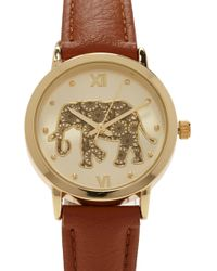Forever 21 - Elephant Analog Watch - Lyst