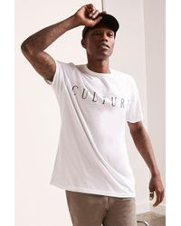 Forever 21 - Culture Graphic Tee - Lyst