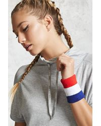 Forever 21 | Active Stripe Sweatbands | Lyst