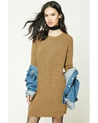 Forever 21 - Brushed Knit Dress - Lyst