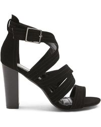 Forever 21 - Strappy Faux Leather Heels - Lyst