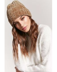 Forever 21 - Chenille Ribbed Knit Beanie - Lyst