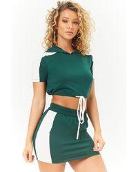 Forever 21 - Colorblock Crop Top & Skirt Set - Lyst