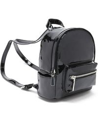 Forever 21 - Faux Patent Leather Mini Backpack - Lyst
