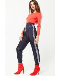 Forever 21 - Striped Cali Joggers - Lyst