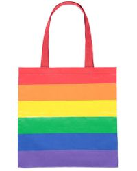 Forever 21 - Rainbow-striped Tote - Lyst