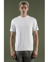 Forever 21 T-shirt a costine - Bianco