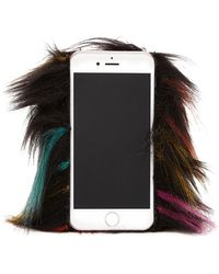 Forever 21 - Faux Fur Case For Iphone 6/6s - Lyst