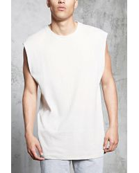 Forever 21 - Waffle Knit Muscle Tee - Lyst