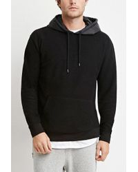 Forever 21 | Reverse French Terry Hoodie | Lyst