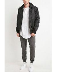 Forever 21 - Speckled Zip-pocket Sweatpants - Lyst