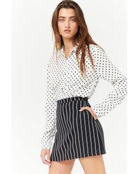 Forever 21 - Double-stripe Mini Skirt - Lyst
