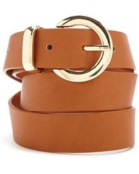 Forever 21 - Faux Leather Hip Belt - Lyst